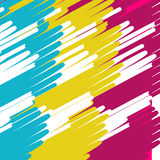 Colored lines geometric abstract background Stock Photos
