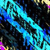Colored lines Graffiti pattern on a black background vector illustration. (vector eps 10 vector illustration