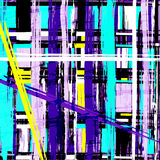 Colored lines Graffiti pattern on a colored background Stock Photos