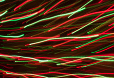 Colored lines of light background Royalty Free Stock Photos