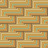 Colored lines pattern Stock Images