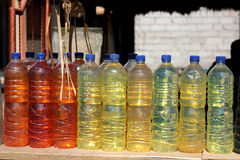 Colored liquid Royalty Free Stock Image