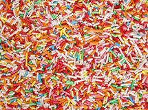 Colored little candies background Stock Photography