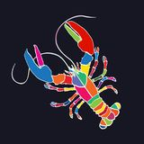 Lobster icon Stock Images