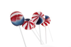 Colored lollipops Stock Photography