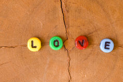 Colored love Royalty Free Stock Photos