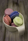 Colored macaroon Stock Image