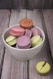 Colored macaroon Stock Photo