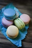 Colored macaroon Royalty Free Stock Photography
