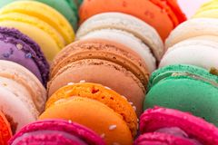 Colored macaroons Royalty Free Stock Photo
