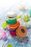 Colored macaroons Royalty Free Stock Images