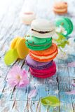Colored macaroons Stock Image