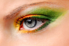 Colored make-up Stock Image