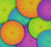 Colored Mandala Background Royalty Free Stock Image