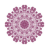 Colored mandala. Beautiful design element Royalty Free Stock Photos