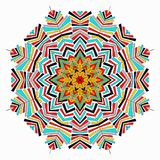 Colored mandala. decorative element for your design. Colored mandala. decorative element quality vector illustration for your design Stock Images