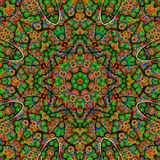 Colored mandala. Kaleidoscope multicolors for relax time Stock Image