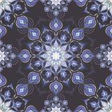 Colored mandala pattern with beautiful ornament Stock Image