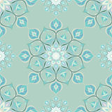 Colored mandala pattern with beautiful ornament Stock Images