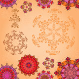 Colored mandala Stock Images