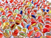 Colored Marbles Stock Photo