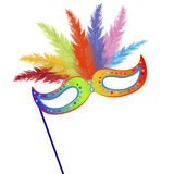 Colored mardi Grass mask Royalty Free Stock Photo