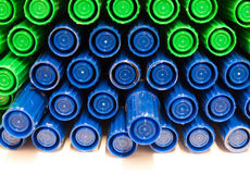 Colored marker pen. On a white background Royalty Free Stock Photos