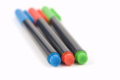 Colored Marker Pens 2 Royalty Free Stock Photography