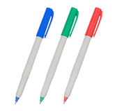 Colored Markers Royalty Free Stock Images