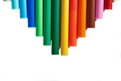 Colored markers Royalty Free Stock Photo