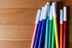 Free Colored Markers Stock Image - 47530651