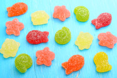 Colored marmalade candy Royalty Free Stock Photography