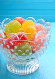 Colored marmalade candy Stock Images