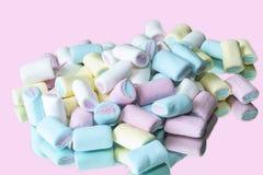 Colored Marshmallow stock photos
