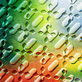 Colored metal Stock Photography