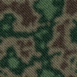 Colored military knit seamless generated texture Royalty Free Stock Image