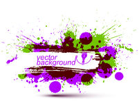 Colored modern vector acrylic wallpaper, eps8 blob seamless patt Stock Photography