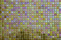 Colored mosaic background Royalty Free Stock Photo