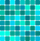 Colored mosaic background. Abstract background illustration of colored tile mosaic Royalty Free Stock Photos