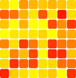 Colored mosaic background. Abstract background illustration of colored tile mosaic Royalty Free Stock Photography