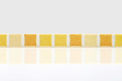 Colored mosaic background tiles Stock Photography