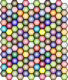 Colored mosaic background - vector Stock Photo