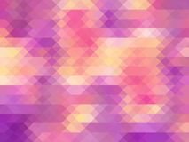 Colored Mosaic || Triangles Background Stock Photos