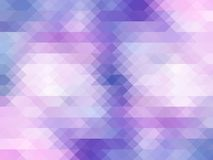 Colored Mosaic || Triangles Background Stock Image