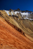 Colored mountain Royalty Free Stock Photo