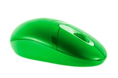 Colored mouse stock photo