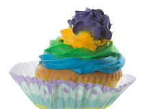 Colored muffin cakes. Royalty Free Stock Photography