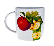 Colored mug Stock Images
