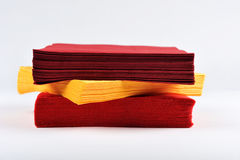 Colored napkins Royalty Free Stock Photo