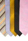 Colored neck tie Stock Photos